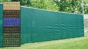 Standard Privacy Fence Screen Shade Cloth W Grommets 85 Blockage Privacygold Privacy Fence Screen Fence Windscreen Fence Screening