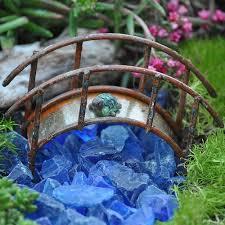 how to make a miniature garden bridge