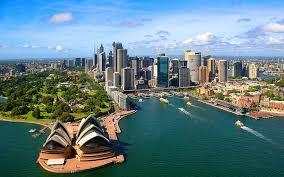 sydney australia circular quay skyline