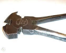 Vtg Utica Tool 1932 Antique Fence Pliers Multi Hammer Cutter Farm Fencing Wire 409196305
