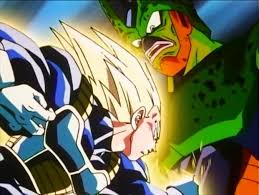 prince vegeta vs imperfect cell dragon ball dragon ball super