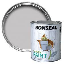 Ronseal Garden Pebble Matt Metal Wood Paint 0 75l Departments Diy At B Q