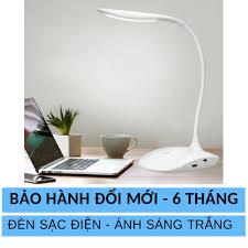 Đèn led để bàn TGX-756, Đèn LED để bàn Có Pin Sạc Dự Phòng, ánh sáng trắng  và vàng kết hợp, đèn LED chống cận cho học sinh, sinh viên