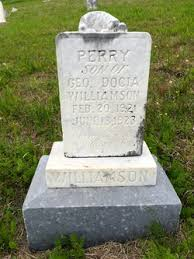 Perry Williamson (1921-1923) - Find A Grave Memorial