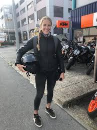 Fanny Smith, skieuse d'élite: «Sur la moto, je me sens plus libre ...