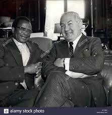 Jun. 06, 1975 - Bishop Muzorewa Sees Mr. Callaghan: Bishop Abel Stock Photo  - Alamy