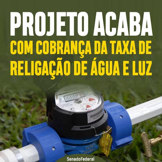 """Resultado de imagem para FIM TAXA PARA RELIGAÇÃO DE ÁGUA E ENERGIA É APROVADO EM COMISSÃO"""""""