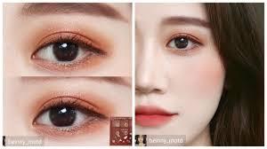 korean eye makeup tutorial and
