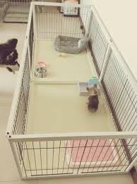 Solid Wood Indoor Dog Fence Large Medium And Small Dog Dog Cage Female Cage Fa Doo Kirkie Wooden Breeding Cage Set