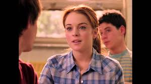 Mean Girls - Cady Meets Aaron Samuels - YouTube