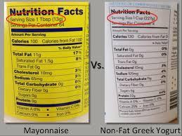 mayo vs non fat greek yogurt