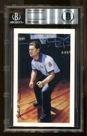 WILLIAM POP GATES Signed Basketball Hof Postcard Beckett Certified Nba Hof  - $39.99 | PicClick