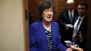 """Susan Collins says she would """"likely"""" vote to call impeachment witnesses -  Axios"""