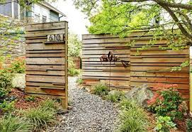 Offset Panels Really Nice Patio Fence Backyard Fences Fence Design