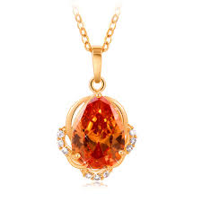 whole 18k yellow gold plated clear
