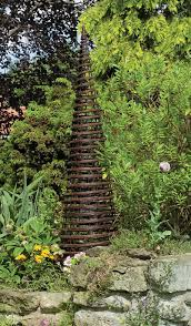 twist obelisk 1 2m garden obelisk