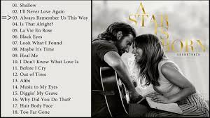 A Star Is Born - Soundtrack Review | A star is born, Soundtrack, Music book