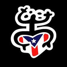 Puerto Rico Car Decal Sticker Coqui Taino With Puerto Rican Flag 27 Ebay