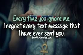 quotes about girlfriend ignoring you quotes
