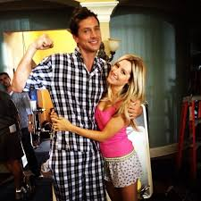 Ashley Tisdale and Simon Rex shot scenes for Scary Movie 5.   Cute Candids  Celebrities Shared This Week   POPSUGAR Celebrity Photo 11
