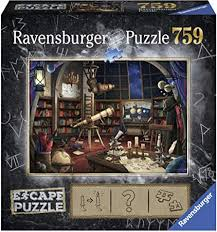 Amazon Com Ravensburger Escape Puzzle Space Observatory 759 Piece Jigsaw Puzzle For Kids And Adults Ages 12 And Up An Escape Room Experience In Puzzle Form Toys Games