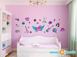 Sunny Decals Rock Star Fabric Wall Decal Wayfair