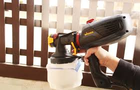 How To Paint A Wooden Fence With A Sprayer Wagner Diy Wooden Fence Wood Fence Buying Paint