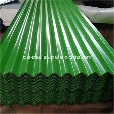 corrugated metal roofing sheet