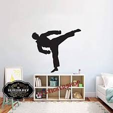 Amazon Com Karate Wall Decal Karate Decals Karate Quotes Decals Mma Wall Decals Vinyl Sticker Room Decal 1634re Home Kitchen