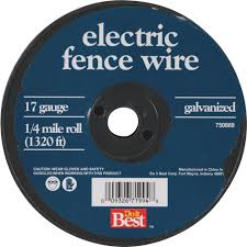 Keystone Red Brand 1 4 Mile X 17 Ga Steel Electric Fence Wire Pack S Do It Center