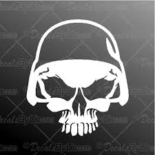 The 1 Source For Military Skull Car Window Stickers