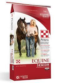 equine senior plete horse feed purina