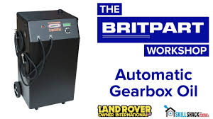 replace your automatic gearbox oil