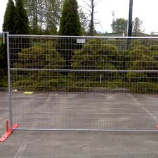 Portable Construction Sites Security Canada Temporary Fencing Panel Mobile Guard Fencing Panel Best Quality Buy Welded Mobile Secure Temporary Fencing Panels For Construction Professional Factory 6ft Pvc Temporary Mobile Fencing Panels Temporary