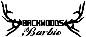 Backwoods Barbie With Antlers Car Or Truck Window Decal Sticker Or Wall Art All Time Auto Graphics