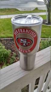 49ers Tumbler Decals Stickers For 30oz 20oz Tumbler Buy 2 Get 1 Free Gamedaydecals