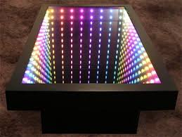 infinity mirror wall displays and