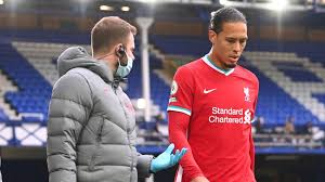 Liverpool's Virgil van Dijk and Thiago injured against Everton | Football  News