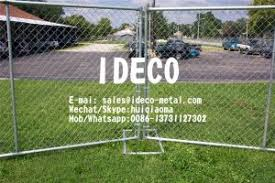 Temporary Portable Chain Link Fence Panels Barricades Mobile Perimeter Security Construction Fencing Dog Fence For Sale Temporary Fences Manufacturer From China 109528418
