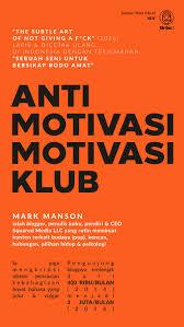 seni cuek ala mark manson kiat sukses jualan buku anti motivasi
