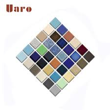 perfect glass light color mosaic chart