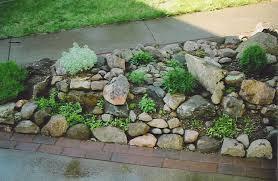 rocks landscape patio rock garden