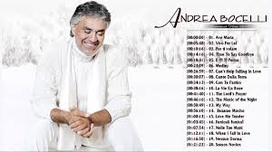 Andrea Bocelli Greatest Hits 2017 playlist - Andrea Bocelli Best ...