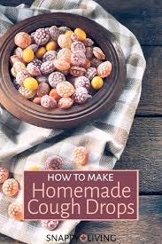how to make homemade cough drops