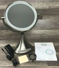 ihome vanity mirror round freestanding