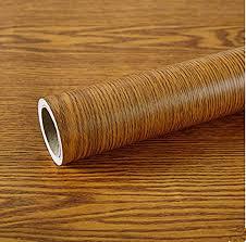 Amazon Com Yija Yellow Oak Wood Grain Self Adhesive Wallpaper Adhesive Vinyl Funitures Dresser Drawer Cabinet Sticker Decal 15 8inch By 79inch Home Kitchen