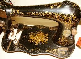 Singer Scrolls Roses Decal Set