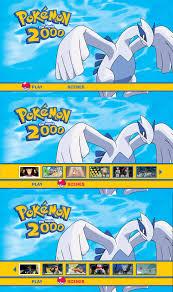 Pokemon The Movie 2000 Blu-Ray Menu by dakotaatokad on DeviantArt