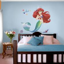Unicorn And Mermaid Wall Decals Silhouette Art Large Little Design Scale African American For Nursery Quote Barbie Vamosrayos