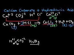 na2co3 hcl net ionic equation